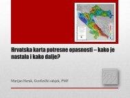 the presentation in pdf in Croatian