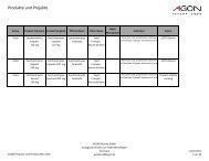 Produkte und Projekte - Icarus Pharma Corp.