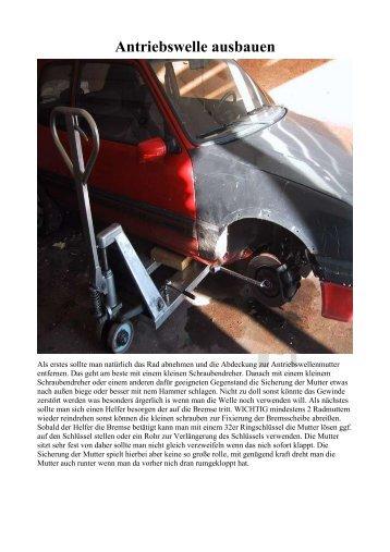 Antriebswelle ausbauen - Peugeotforum