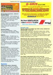 Ladda ner @-GRIS som PDF om du vill ha snygga ... - GrisPortalen