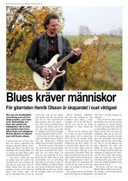 Du kan läsa en intervju med Henrik Olsson här - Hjälmarens Tidning