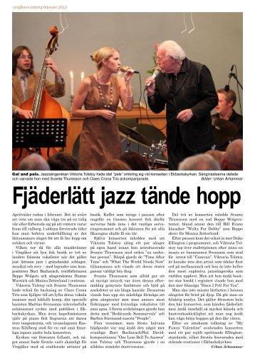 Fler bilder och en konsertrapport finns i ett reportage i Vingåkers ...