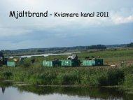 Mjältbrand – Kvismare kanal 2011 - Infektion.net
