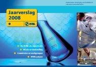 NVML-Jaarverslag 2008 - Nederlandse Vereniging van bioMedisch ...