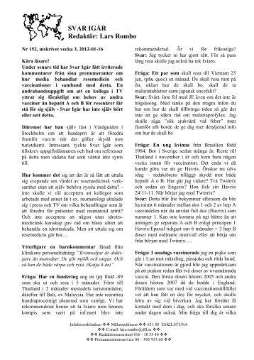 Svar och vinnare 2007 02 25 3