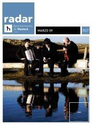 Radar, marzo 2009 - Ayuntamiento de Huesca