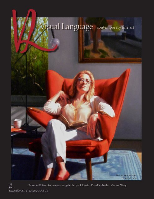 Visual Language Magazine Contemporary Fine Art Vol 3 No 12 December 2014