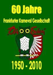 """Frankfurter Karneval Gesellschaft """"DIE EULEN"""" 1950 e.V."""