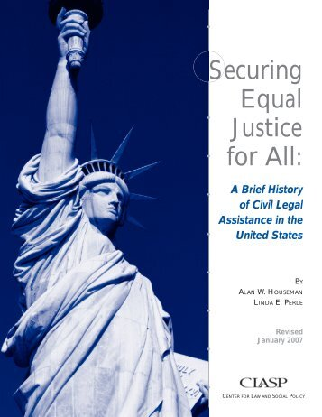 Securing Equal Justice for All: A Brief History - CLASP