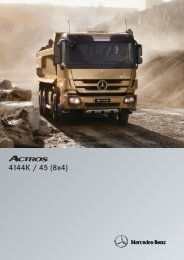 Actros 4144 K 8x4 - Mercedes Benz