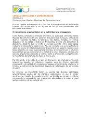 Medios Masivos de Comunicación, Modulo 3 - Sector Lenguaje y ...