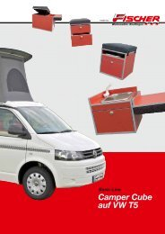 Camper Cube auf VW T5 Basic-Line - Fischer Wohnmobile Reutlingen