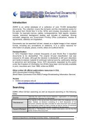 Introduction Searching - Cambridge University Library