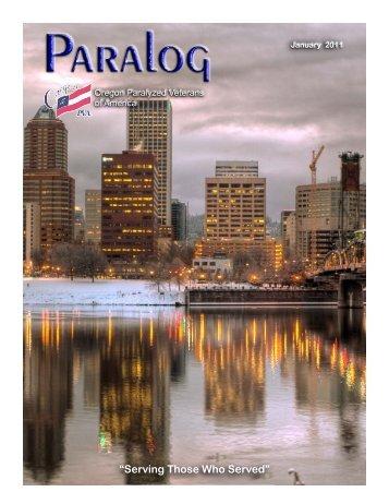 Jan 2011 - Oregon Paralyzed Veterans of America