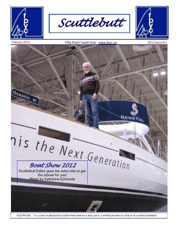 Scuttlebutt February 2012 - Fifty Point Yacht Club