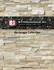 Hardscape Collection - Natural Stone