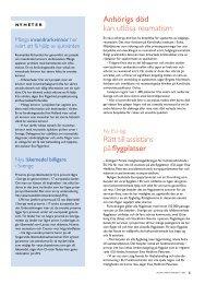 5 Nyheter - Välkommen till Reumatikertidningens arkiv