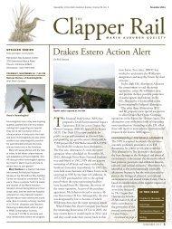 November 2011 - Marin Audubon Society