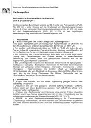Kantonspolizei - Basler Fasnachts Comité