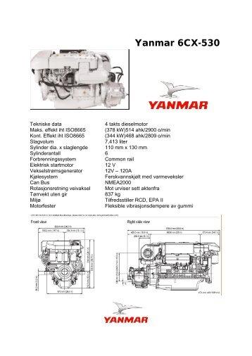 Yanmar 6CX-530