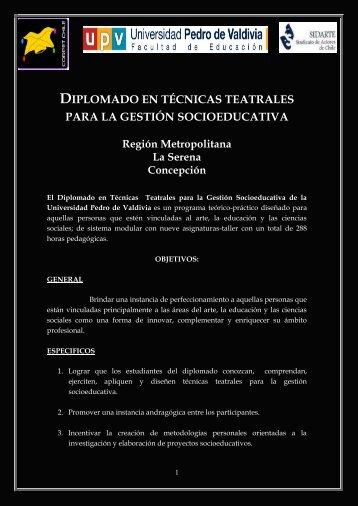 DIPLOMADO TEC. Teatrales UPV negrito.pdf - Bligoo.com