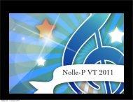 tisdag den 11 januari 2011 - SeKeL