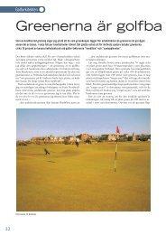 Greenerna är golfbanans själ - Golf.se