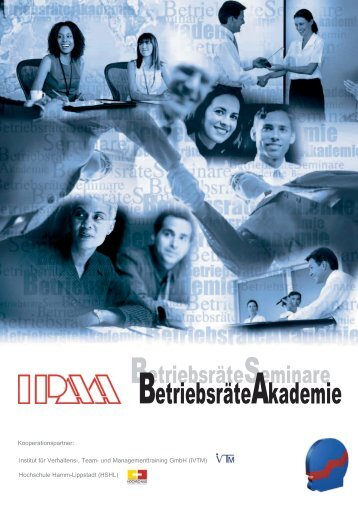 Info Broschüre IPAA BetriebsräteAkademie