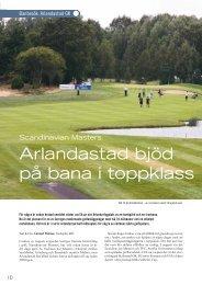 Arlandastad bjöd på bana i toppklass - Golf.se