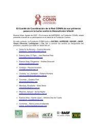 El Comité de Coordinación de la Red CONIN da sus primeros ... - Basf