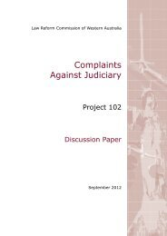 Discussion Paper (September 2012) - Law Reform Commission of ...