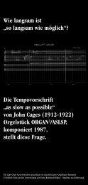 von John Cages (1912-1922) Orgelst - Evangelische Kirchenmusik ...