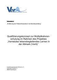Qualifzierungskonzept zur Multiplikatoren- schulung im ... - EUROlocal