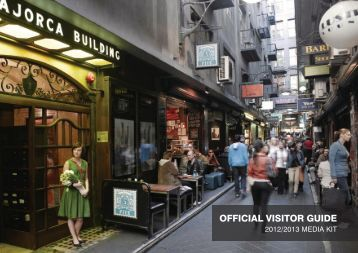 OFFICIAL VISITOR GUIDE - Destination Melbourne