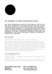 01 September_Communiqué - Junges Schauspielhaus Zürich