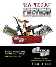 2010 New Product Preview - Fabtech