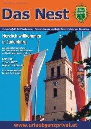 Herzlich willkommen in Judenburg - Privatzimmer und ...