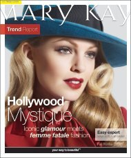 Iconic glamour meets femme fatale fashion - Mary Kay