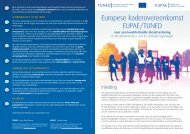 Brochure Europees kader (PDF, 1.76 MB) - Fedweb - Belgium