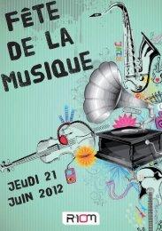 Jeudi 21 Juin 2012 - Ville de Riom