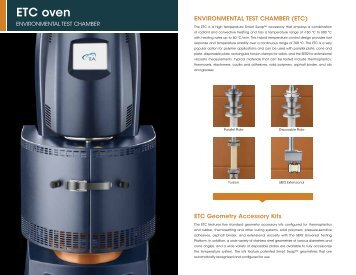 ETC oven - TA Instruments