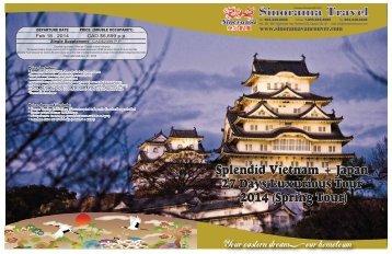 Splendid Vietnam + Japan 27 Days Luxurious Tour 2014 (Spring ...