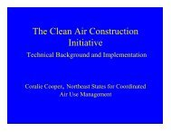 The Clean Air Construction Initiative - MDEC