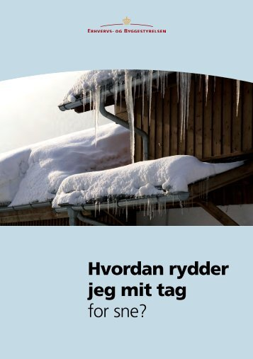 Hvordan rydder jeg mit tag for sne? (PDF/2,5MB)