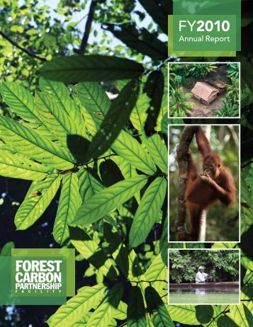 FCPF 2010 Annual Report - The Forest Carbon Partnership Facility
