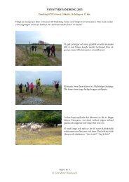 Vandring 9-2013 - Äventyrsvandring