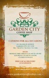 516 224 4444 tel - Garden City Coffee Shop