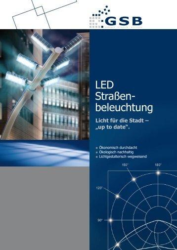 LED Straßenbeleuchtung - GSB mbH & Co. KG