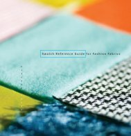 Swatch Reference Guide for Fashion Fabrics - Fairchild Books