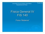 E - Departamento de Física - Universidad Técnica Federico Santa ...